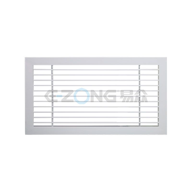 FK042- Linear bar grille with 0° angle blades